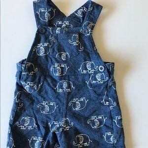 Baby boy shirt overalls